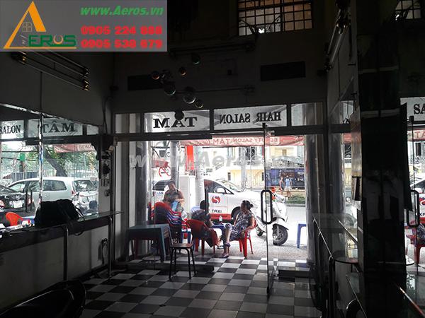 THIẾT KẾ NỘI THẤT SHOP GIÀY, ANH HOÀNG, QUẬN 1, TP. HCM