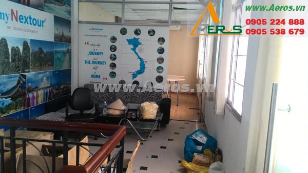 hiện trạng thiết kế spa nhỏ của chị Hương ở Quận 1, TPHCM