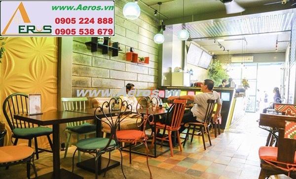 THIẾT KẾ NỘI THẤT QUÁN CAFE LIGHT UP COFFEE, quận 1, HCM