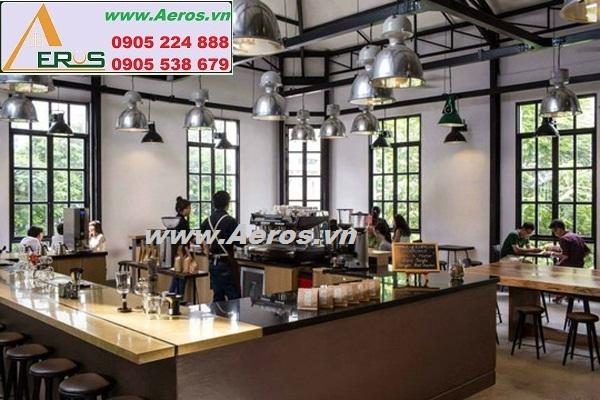 THIẾT KẾ NỘI THẤT QUÁN CAFE THE WORKSHOP, quận 1, HCM