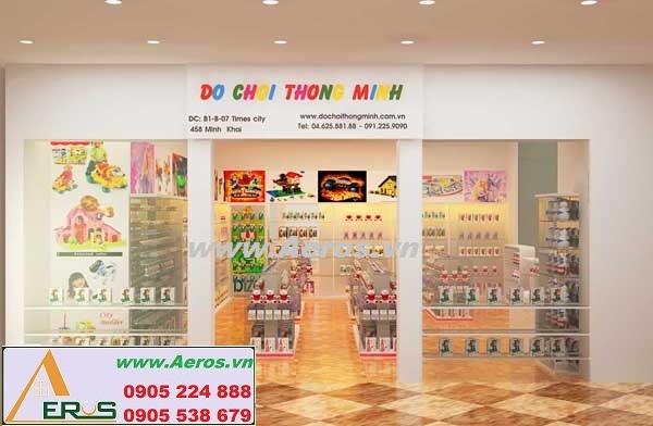 THIẾT KẾ GIAN HÀNG ĐỒ CHƠI THÔNG MINH ở TTTM Times City, Hà Nội