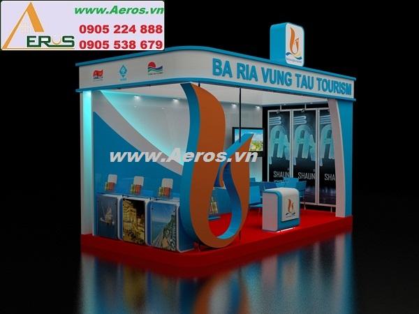 THIẾT KẾ THI CÔNG gian hàng hội chợ triển lãm BA RIA VUNG TAU TOURISM