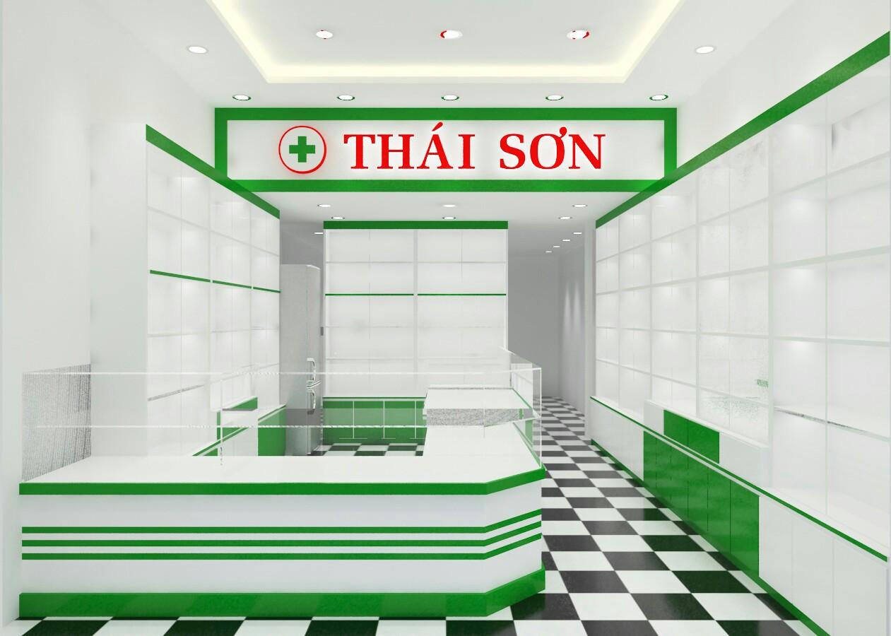 THiẾT KẾ THI CÔNG NHÀ THUỐC CHỊ PHƯỢNG, Q.GÒ VẤP, TP HCM