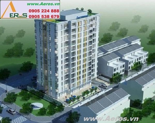 THIẾT KẾ CĂN HỘ chị Hoa, chung cư CENTRAL PLAZA, Q. Tân Bình, HCM