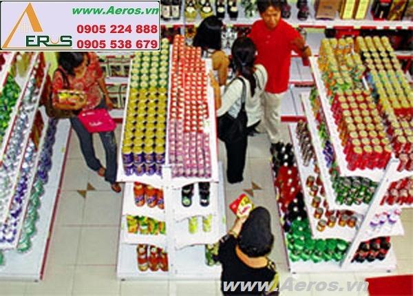 THIẾT KẾ NỘI THẤT siêu thị mini CAO CẤP