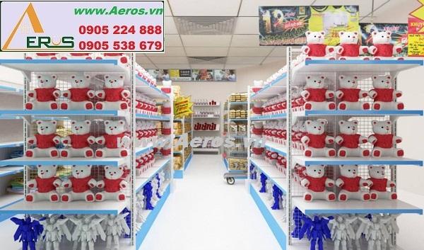 THIẾT KẾ NỘI THẤT siêu thị mini ĐẲNG CẤP