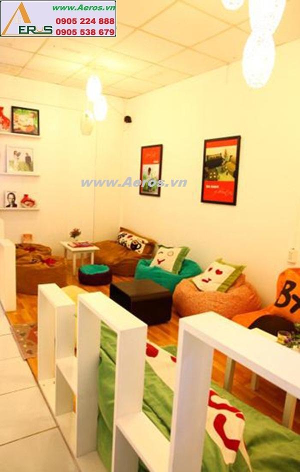 THIẾT KẾ NỘI THẤT QUÁN CAFE LƯỜI, Gò Vấp, HCM