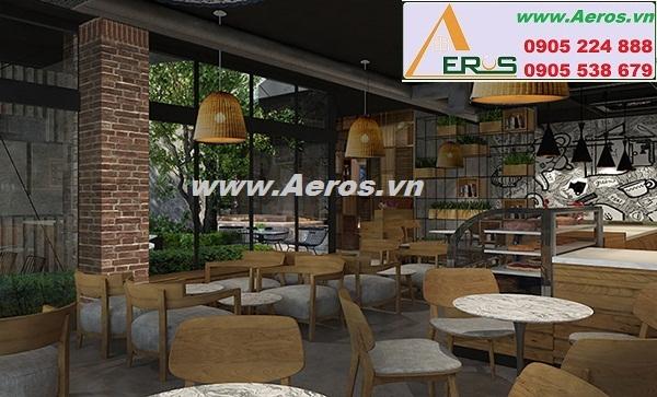THIẾT KẾ NỘI THẤT QUÁN CAFE COFFEE HOUSE, quận 3, HCM