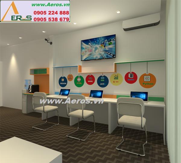 THIẾT KẾ NỘI THẤT VĂN PHÒNG công Ty Webico, Quận Tân Bình, HCM