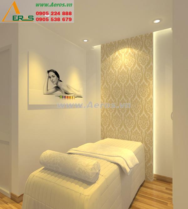Thiết kế spa nhỏ của chị Hương ở Quận 1, TPHCM