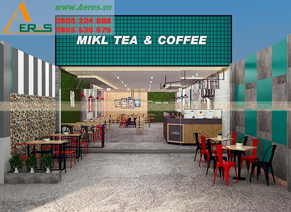THiẾT KẾ THI CÔNG NỘI THẤT QUÁN CAFE TẠI ĐỒNG NAI