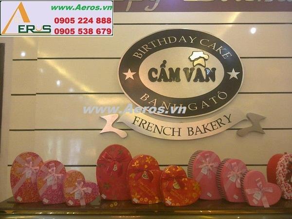 THIẾT KẾ NỘI THẤT cửa hàng bánh ngọt CẨM VÂN Tại THÁI NGUYÊN