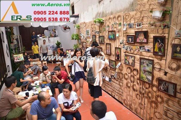 THIẾT KẾ NỘI THẤT QUÁN CAFE ART ZONE, Ba Đình, Hà Nội