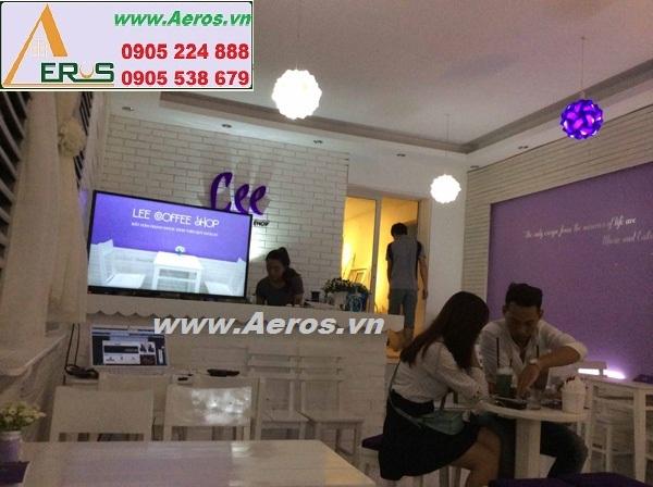 THIẾT KẾ NỘI THẤT QUÁN CAFE LEE tại Thái Nguyên