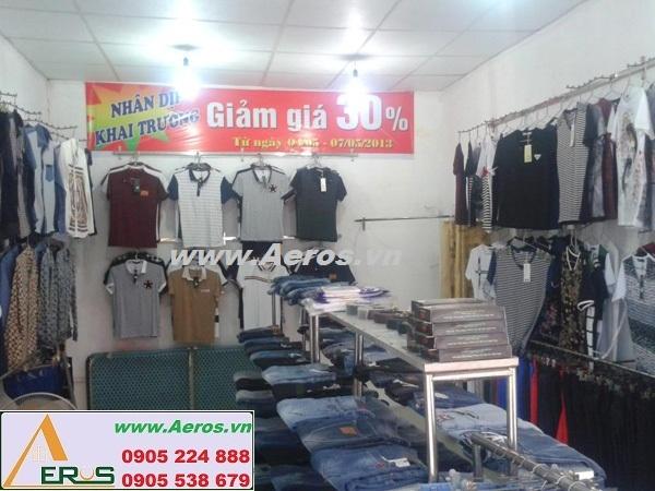 THIẾT KẾ NỘI THẤT shop thời trang ĐỨC MẠNH tại Thái Nguyên
