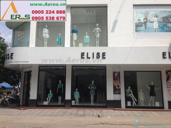 THIẾT KÊ NỘI THẤT SHOP THỜI TRANG ELISE tại Thanh Hóa