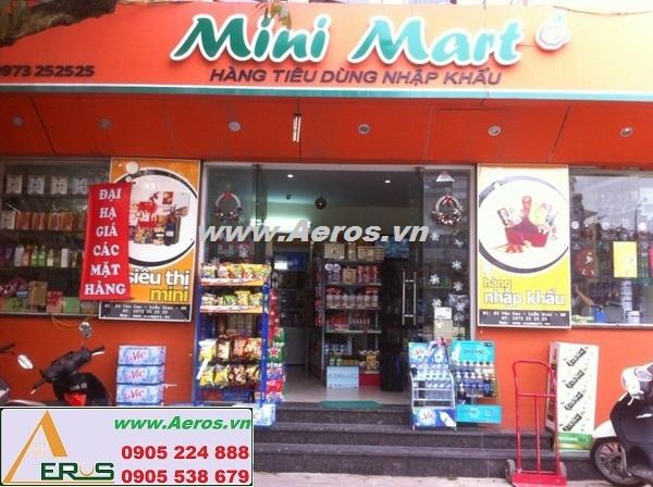 THIẾT KẾ NỘI THẤT SIÊU THỊ MINI mini mart ở Hà Nội