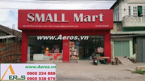 THIẾT KẾ NỘI THẤT SIÊU THỊ MINI Small Mart ở quận 8, HCM