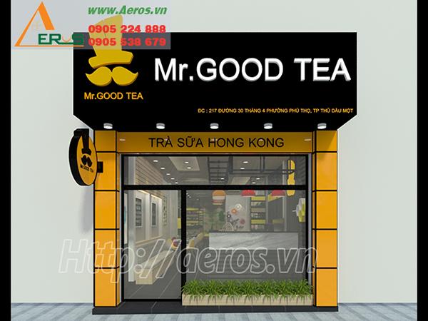THiẾT KẾ THI CÔNG QUÁN TRÀ SỮA MR. GOOD TEA, THỦ DẦU MỘT,  BÌNH DƯƠNG