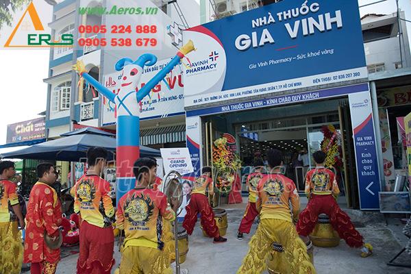 DỰ ÁN THiẾT KẾ THI CÔNG NHÀ THUỐC TÂY GIA VINH Ở QUẬN 7, TPHCM