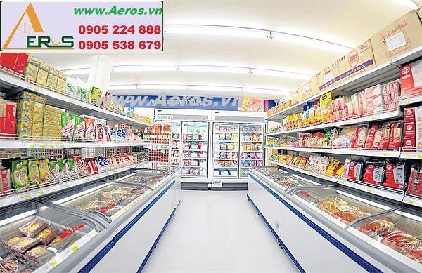 THIẾT KẾ NỘI THẤT siêu thị mini tại Hà Nội