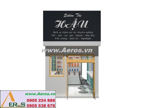 THIẾT KẾ NỘI THẤT Salon Tóc Hậu tại HCM