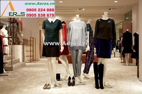 CÁCH THIẾT KẾ NỘI THẤT shop thời trang quần áo đẹp và ấn tượng