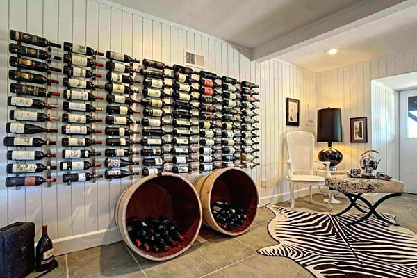 Kệ rượu treo tường đẹp