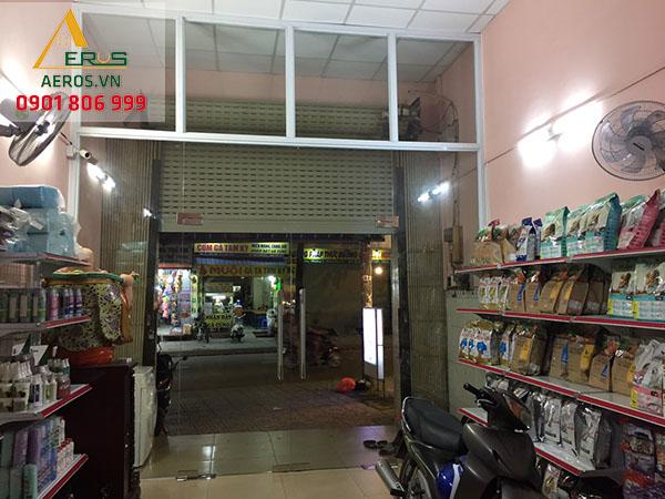 Hiện trạng thi công shop hoa tươi DP Flower tại quận Gò Vấp, TP.HCM