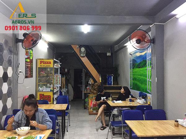 Hiện trạng cửa hàng bánh của chị Linh tại Quận Tân Phú