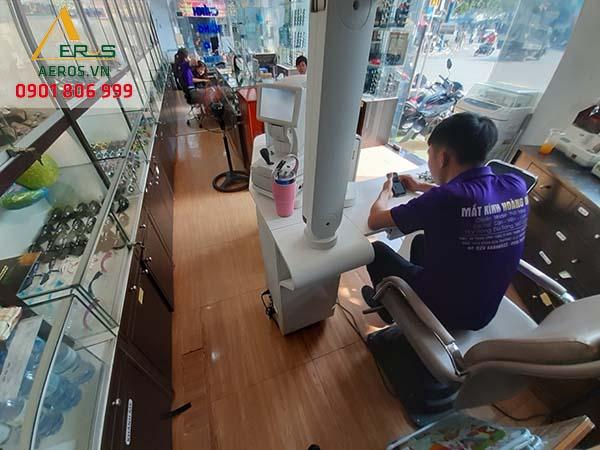 Hiện trạng cửa hàng mắt kính Hoàng Hà tại quận Tân Phú, TP.HCM