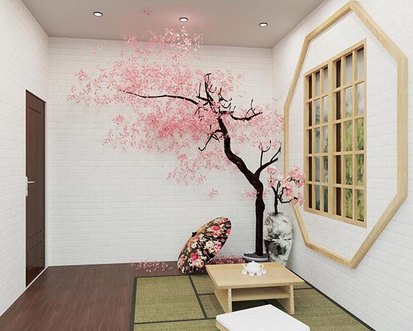Thiết kế nội thất nhà hàng Hàn Quốc của chị Ngọc Lan tại Bình Dương