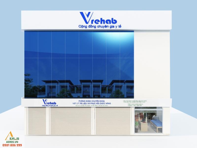 Thiết kế thi công nội thất phòng khám của anh Thanh tại quận Tân Bình, TP.HCM