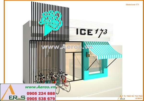 THIẾT KẾ NỘI THẤT QUÁN KEM, ICE173, tp.HCM